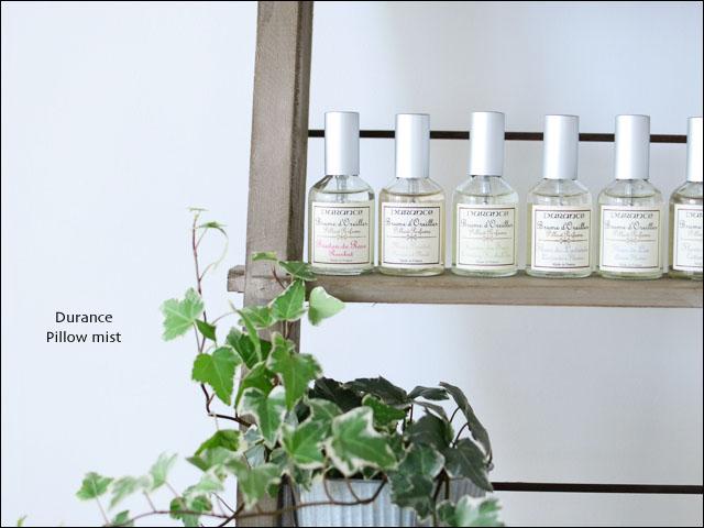 Durance [デュランス] ピローミスト [50ml] やさしい香りに包まれながら穏やかに眠りたい方へ _f0051306_2029796.jpg