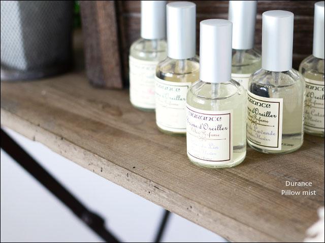 Durance [デュランス] ピローミスト [50ml] やさしい香りに包まれながら穏やかに眠りたい方へ _f0051306_2029976.jpg