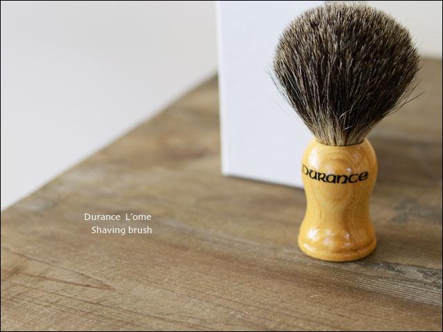 Durance [デュランス] ロメシリーズ シェイビングブラシ MEN\'S_f0051306_20342680.jpg