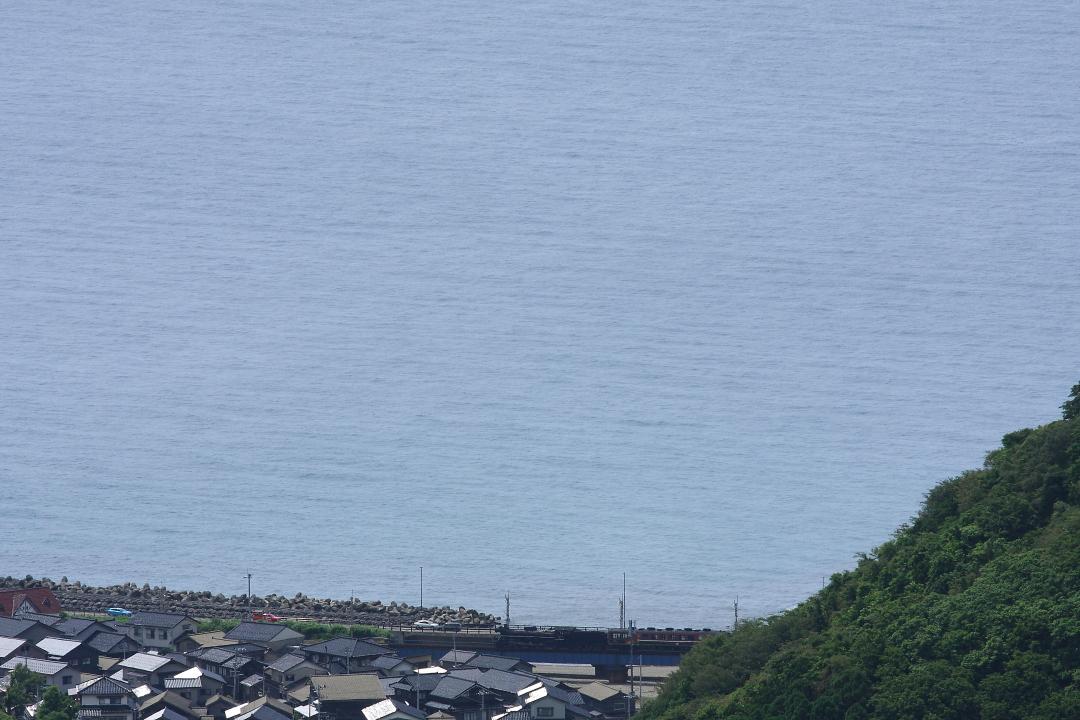 海辺の鉄橋を渡るC57 - 2014年初夏・羽越本線 -  _b0190710_23533674.jpg