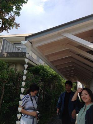 鎌倉の分居  竣工見学_c0124828_1021209.jpg