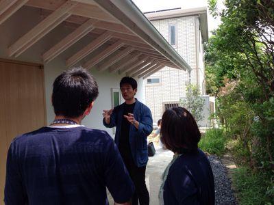 鎌倉の分居  竣工見学_c0124828_10212555.jpg