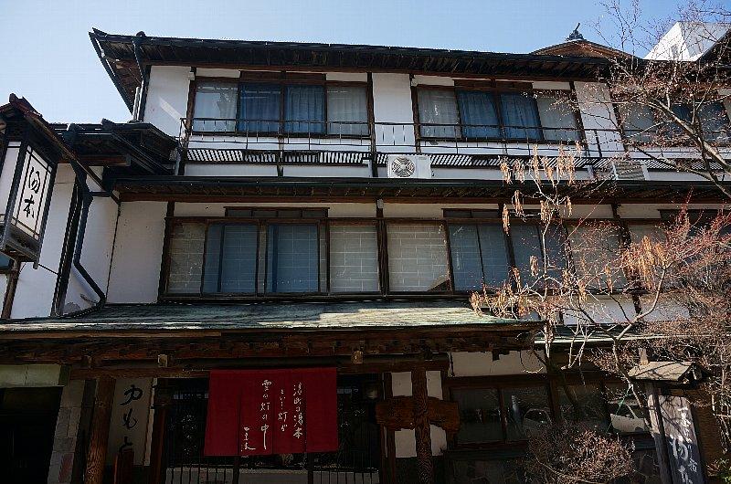 湯田中温泉の町並みと旅館群_c0112559_9271856.jpg