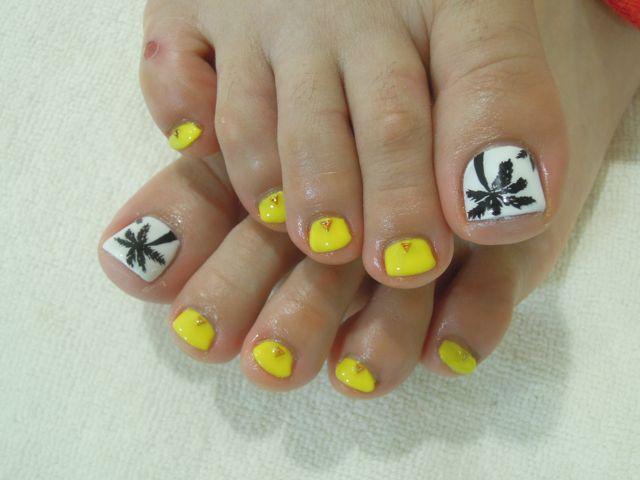 Palm trees Nail_a0239065_15414669.jpg