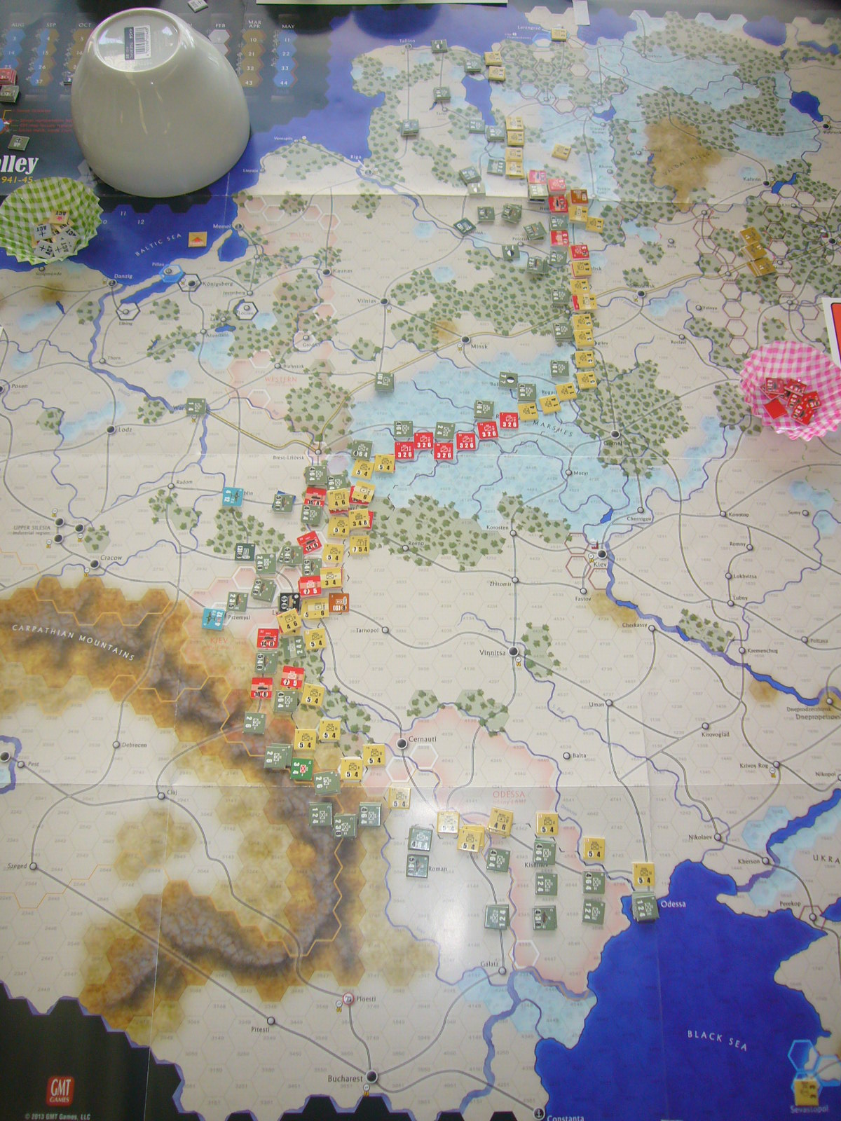 6/21 YSGA第300回定例会の様子その3(GMT)ダーク・バレー「1944バグラチオン作戦」シナリオ3人戦)_b0173672_23033782.jpg