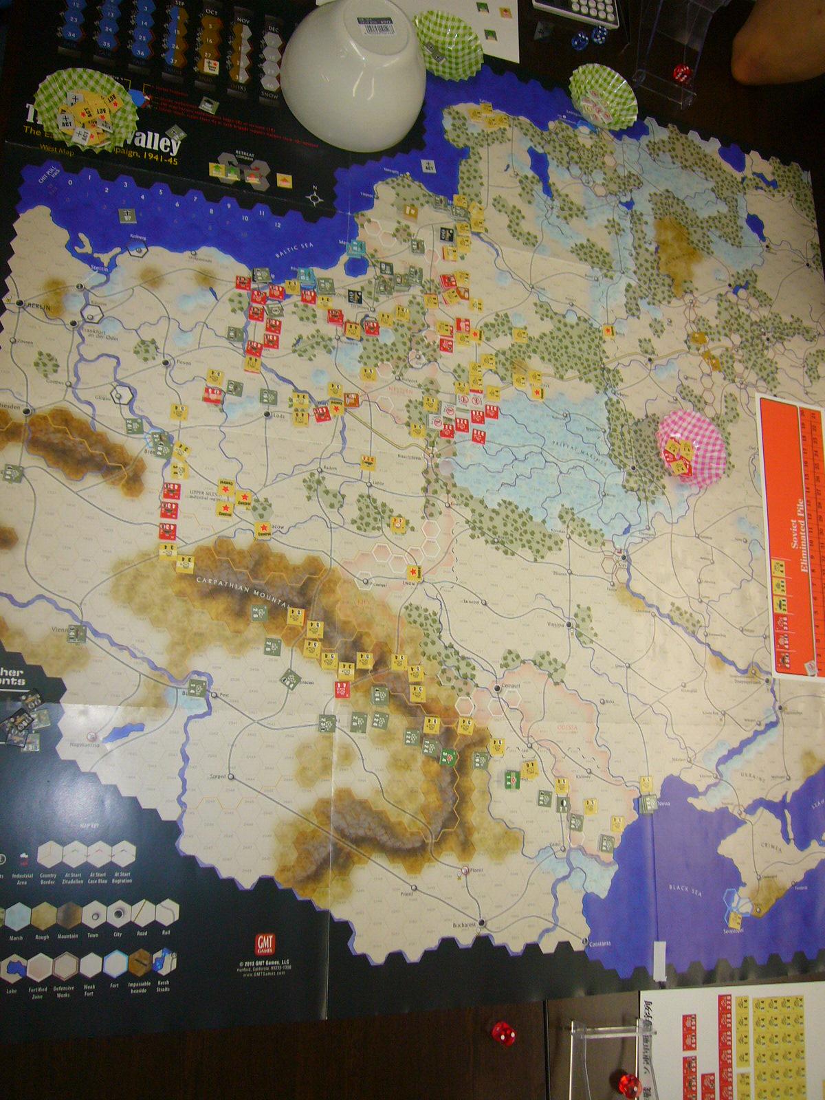 6/21 YSGA第300回定例会の様子その3(GMT)ダーク・バレー「1944バグラチオン作戦」シナリオ3人戦)_b0173672_23041317.jpg
