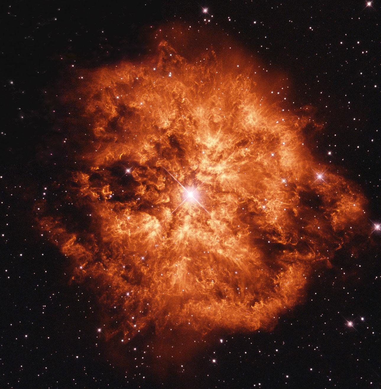 いて座のウォルフ・ライエ星と惑星状星雲M1-61_d0063814_13054656.jpg