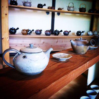 「日本茶でいっぷく 手仕事の急須ティーポット展」開催中_a0197647_8193579.jpg