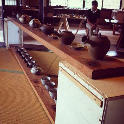 「日本茶でいっぷく 手仕事の急須ティーポット展」開催中_a0197647_8193947.jpg
