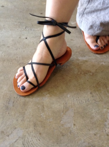 camphortree/Leather sandals入荷_b0173176_21393341.jpg