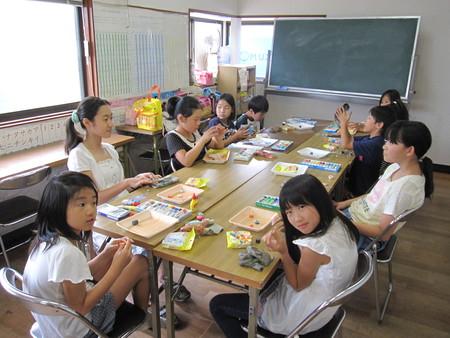 長尾教室 ~マグネット作り~_f0215199_14422750.jpg