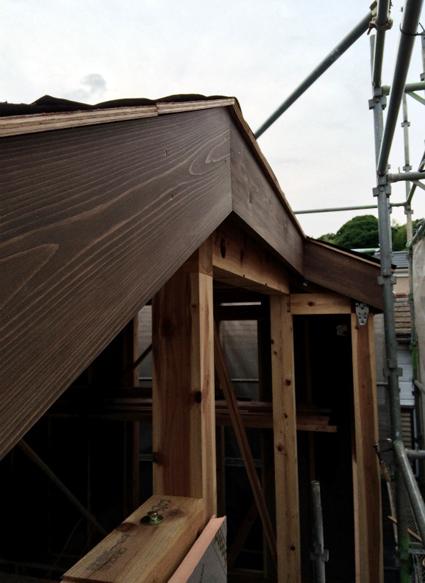 屋根の準備と壁の準備_a0148909_10564254.jpg