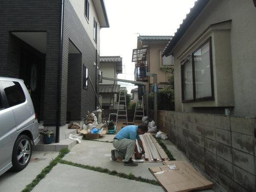 S様邸(安佐南区高取北)カーポート・土間打ち工事_d0125228_8552238.jpg