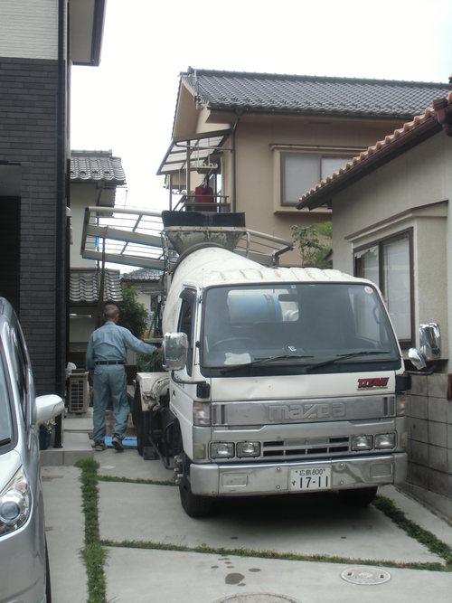 S様邸(安佐南区高取北)カーポート・土間打ち工事_d0125228_8582689.jpg
