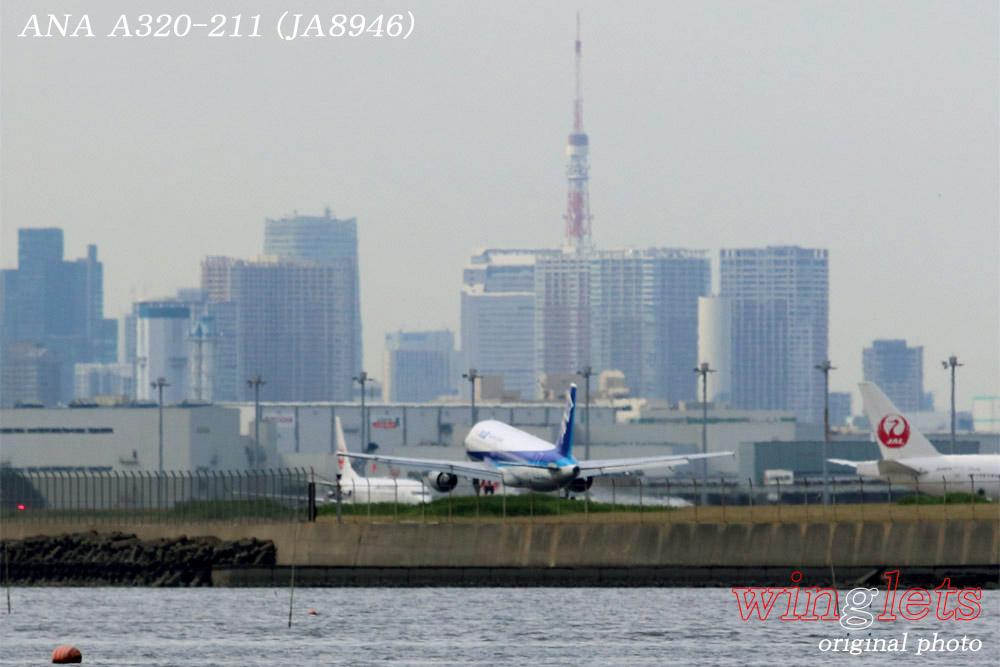 '14年 川崎・浮島公園レポート・・・ANA/JA8946_f0352866_23554925.jpg