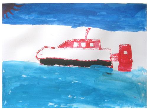 旅する船①・小学生クラス_f0211514_23214267.jpg