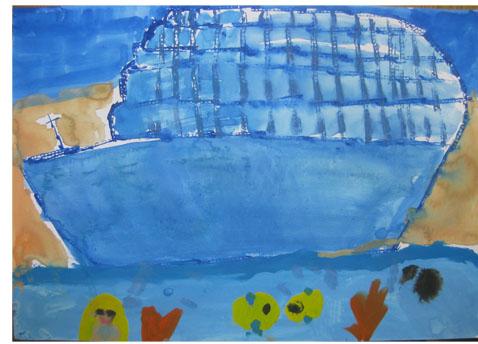 旅する船①・小学生クラス_f0211514_23222494.jpg