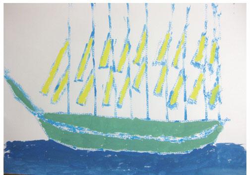 旅する船①・小学生クラス_f0211514_23225054.jpg