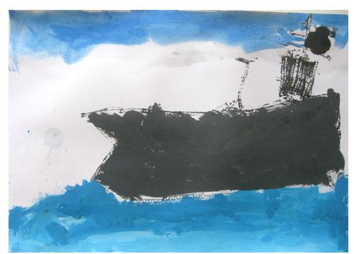 旅する船①・小学生クラス_f0211514_2322855.jpg