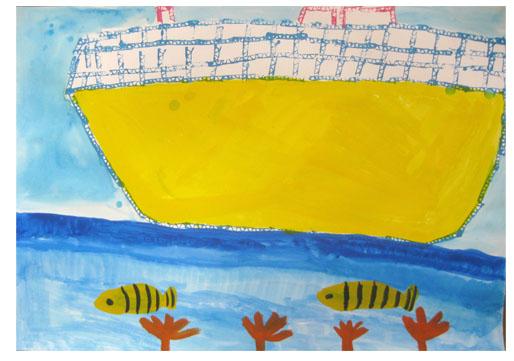 旅する船①・小学生クラス_f0211514_23232046.jpg