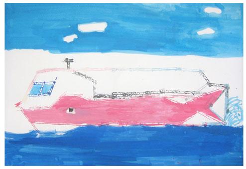 旅する船①・小学生クラス_f0211514_23235442.jpg