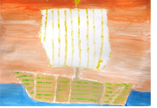 旅する船①・小学生クラス_f0211514_23244330.jpg