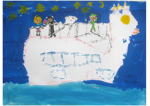 旅する船①・小学生クラス_f0211514_23245572.jpg