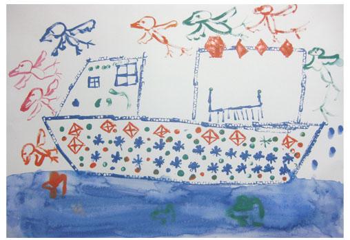 旅する船①・小学生クラス 比良_f0211514_23323257.jpg