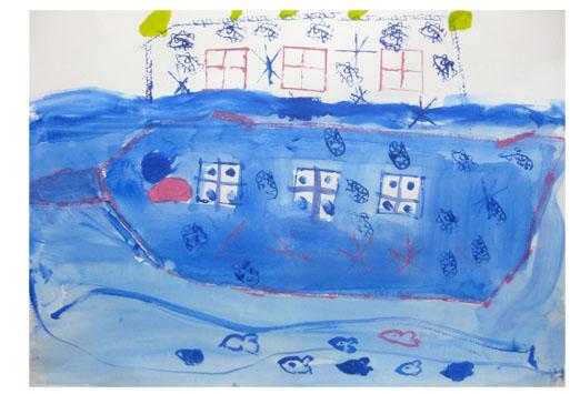 旅する船①・小学生クラス 比良_f0211514_23331114.jpg