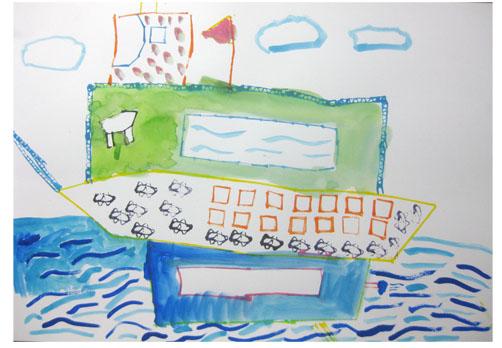 旅する船①・小学生クラス 比良_f0211514_23332129.jpg