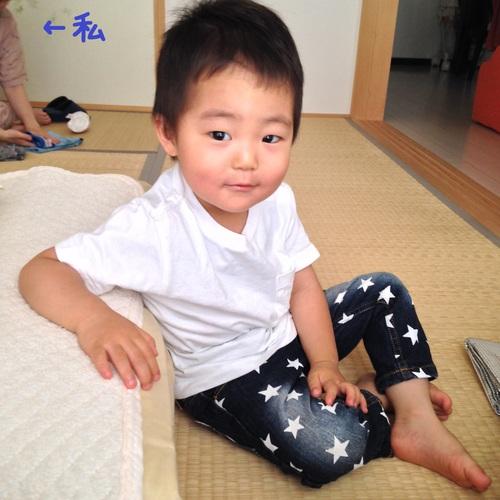 ばあちゃんの訪問_a0267942_1043191.jpg