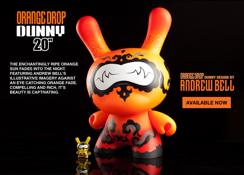 "Orange Drop 20"" Dunny by Andrew Bell_e0118156_1235156.jpg"