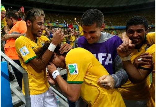 ベスト4はドイツとブラジル、そして夜はゴジラ特集_d0183174_8291061.jpg