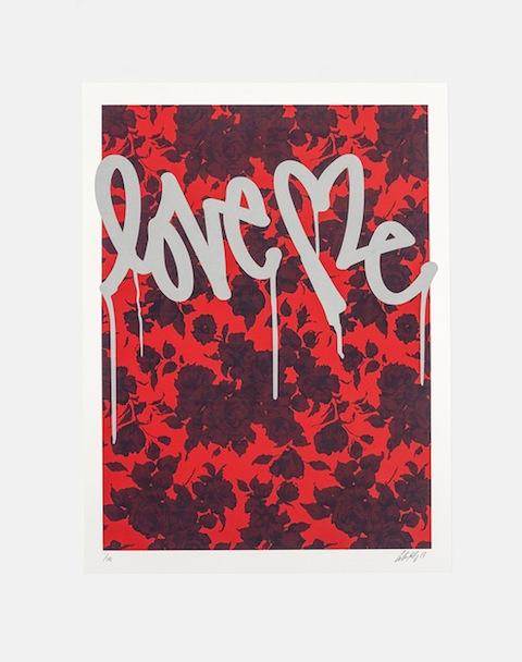 SATURDAYS SURF NYC×CURTIS KULIG LIMITED EDITION PRINT FLORAL LOVE ME:SORRY,SOLD OUT!_f0111683_19110325.jpg