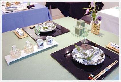 七夕の願いをテーブルに込めて ~上級クラス_d0217944_118365.jpg