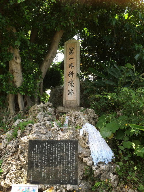 ひめゆり学徒隊の足跡を訪ねて(スイミー沖縄取材)_e0088256_2141965.jpg