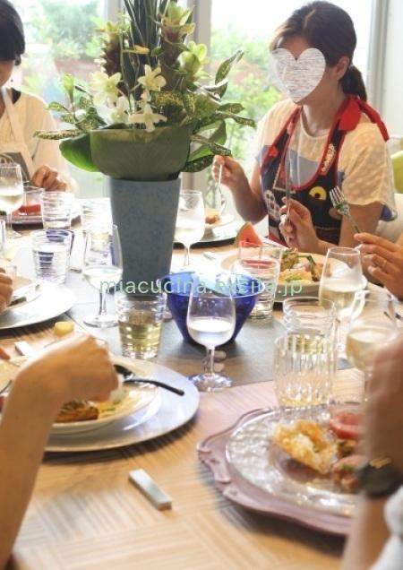 7月のテーブルとレッスン風景_b0107003_19122319.jpg