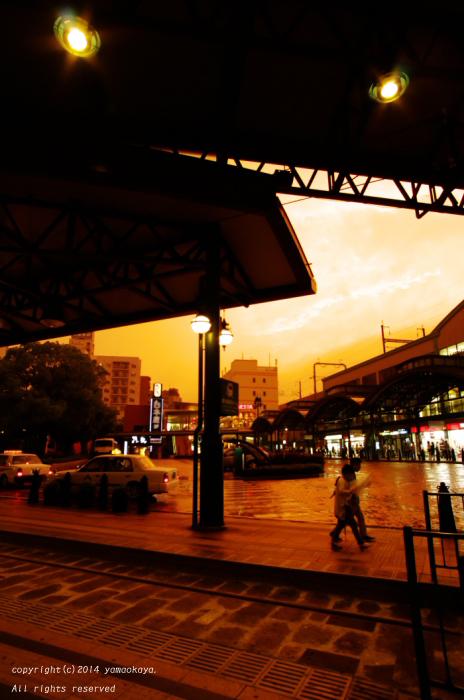 雨の間の夕映え_d0309612_23211614.jpg