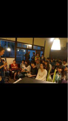 cafe & bar  Brisa do 1周年記念【音楽と蕎麦の夕べ】_d0168331_1735122.jpg