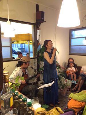 cafe & bar  Brisa do 1周年記念【音楽と蕎麦の夕べ】_d0168331_1735816.jpg