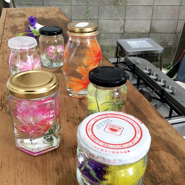 水中花の作り方 植物採集シリーズ レンゲソウ_b0292535_1547351.jpg