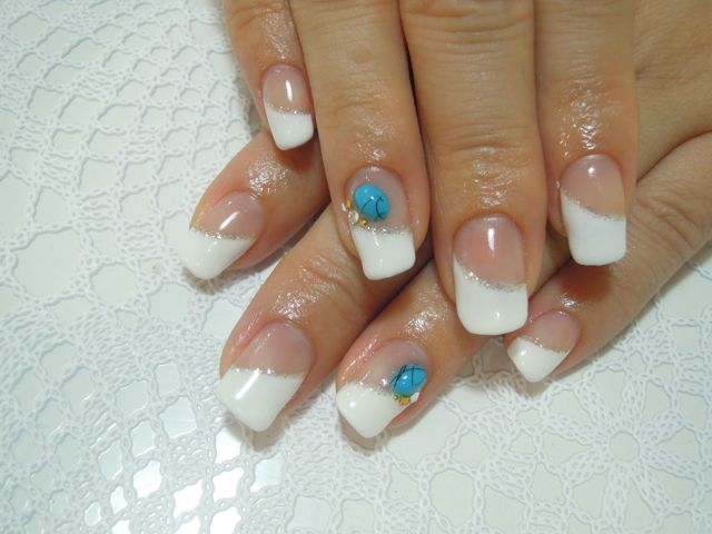 Turquoise × White_a0239065_1112861.jpg