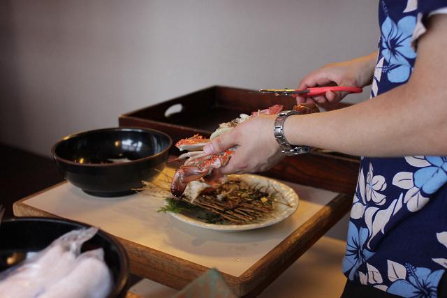佐賀県藤津郡太良町で蟹料理をいただく_a0278866_22211614.jpg