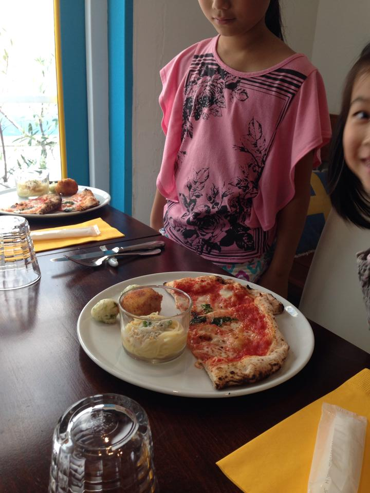 Italian Lunch&Japanese tea_b0195783_10194319.jpg