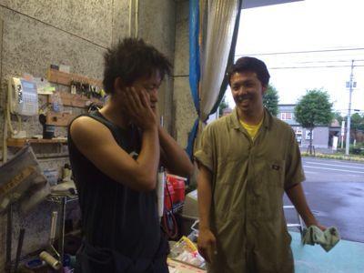 夏ですねー7月6日ランクルハマー札幌店の一日_b0127002_0525534.jpg