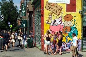 ブルックリンのウィリアムズバーグ(南側)で見かけた街角アート_b0007805_22163089.jpg