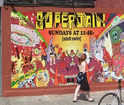 ブルックリンのウィリアムズバーグ(南側)で見かけた街角アート_b0007805_22173715.jpg