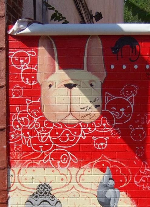 ブルックリンのウィリアムズバーグ(南側)で見かけた街角アート_b0007805_22201586.jpg