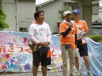 七夕の日、池田から川西へ、大阪府から兵庫県へ「平和行進」が引き継がれました。_c0133422_1311072.jpg