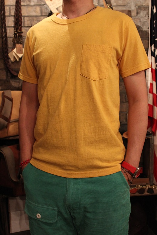 "SLOW HOLIDAY TOOL ""CREW NECK S/S POCKET TEE\"" ご紹介_f0191324_8333999.jpg"
